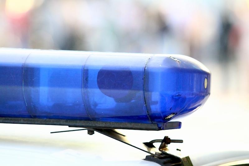 В Крыму в аварию попал автомобиль полицейских
