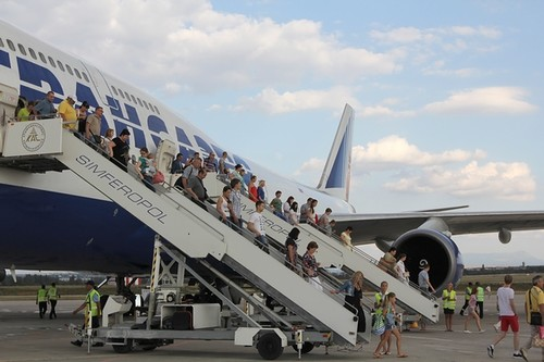 Симферопольский аэропорт вовсю готовится к курортному сезону