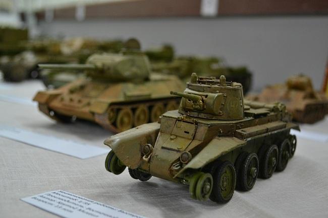 В Крыму состоится необычная выставка миниатюрной военной техники
