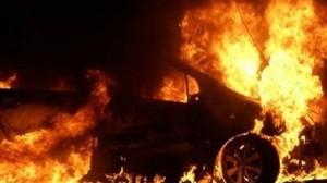 В Севастополе неизвестные злоумышленники поджигают автомобили