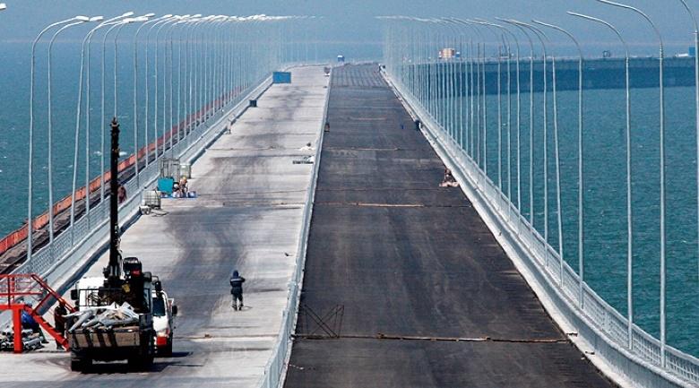 Железнодорожный переход через Керченский пролив не успеют сдать в срок