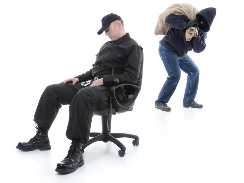 В Красноперекопске охранник проспал все ограбление