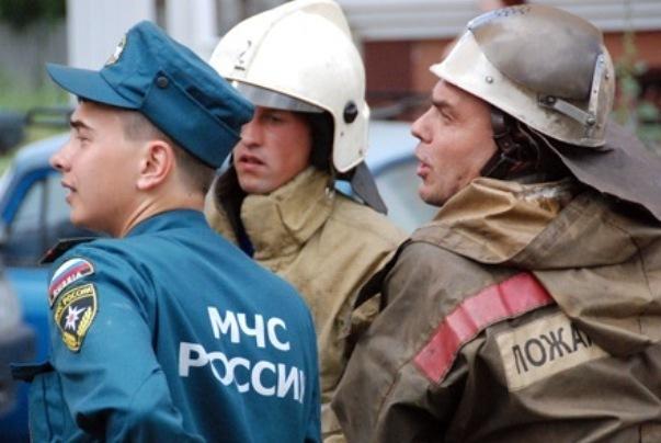 На стройплощадке крымского моста состоялись учения медиков и пожарных
