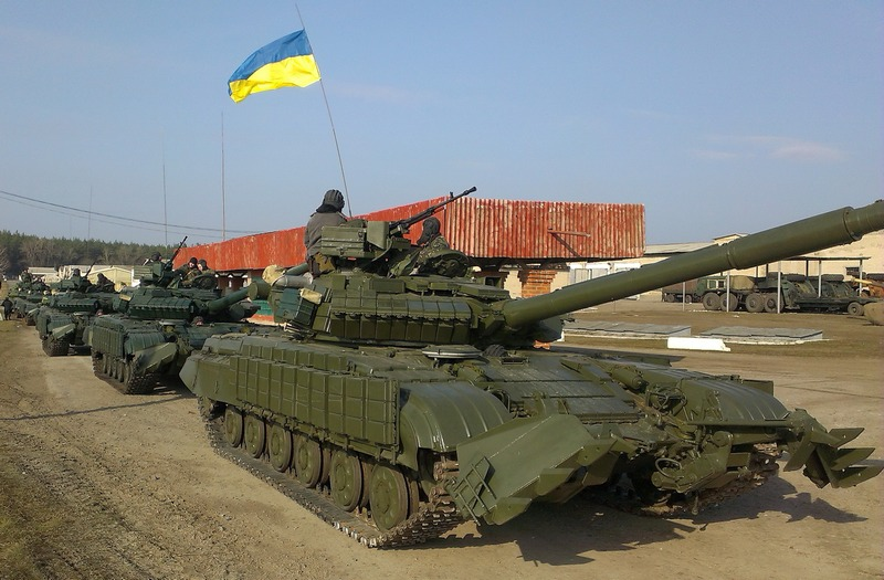 Крымчан беспокоят украинские танки у границы