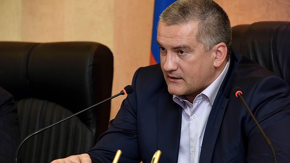 Аксенов раскритиковал строительство и ремонт дорог в Крыму