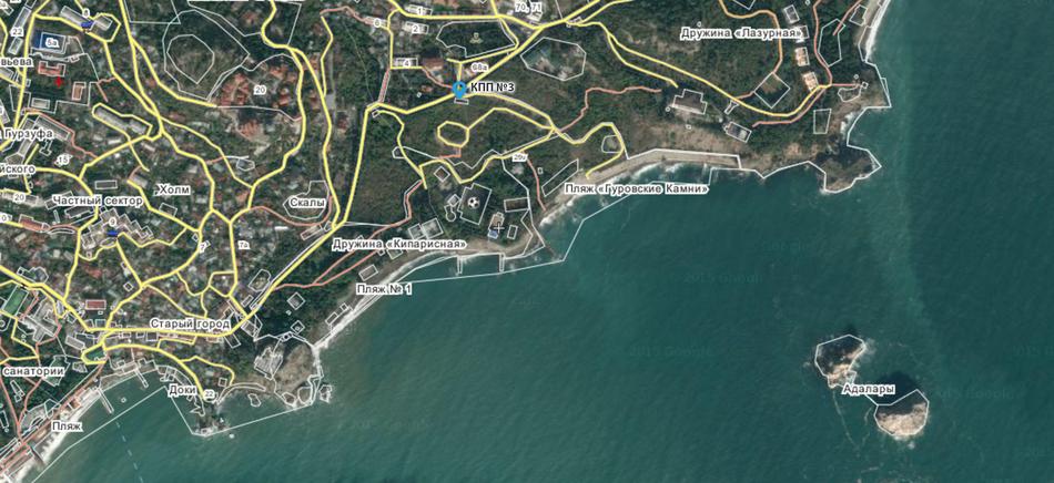 В Крыму полиция задержала протестующих против присоединения пляжа к «Артеку»