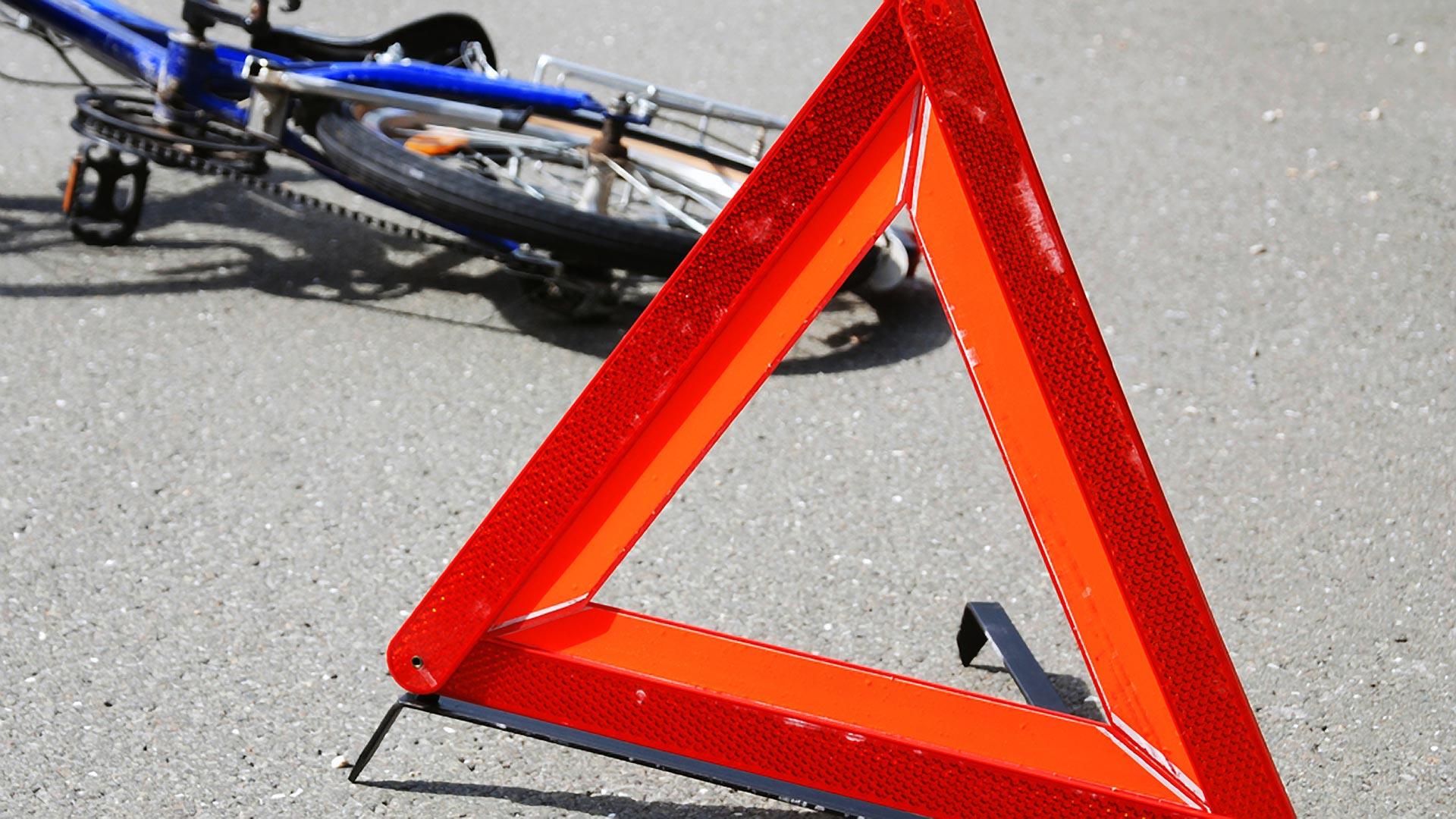 На крымской трассе пострадал велосипедист