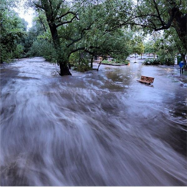 В Крыму опасаются наводнения из-за обильных осадков