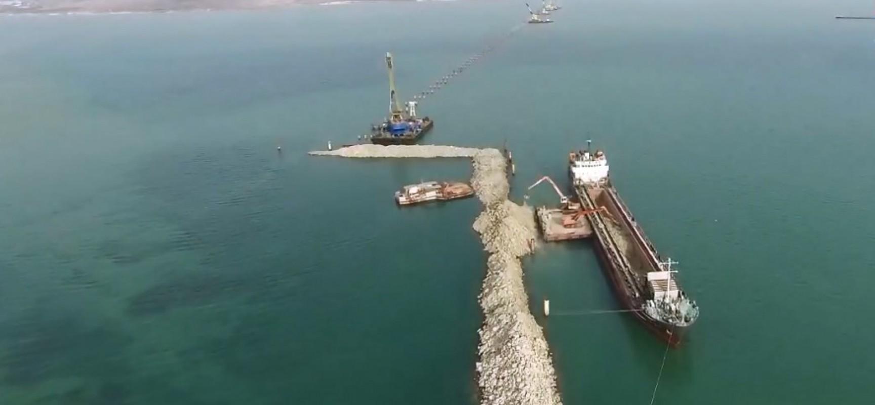 Строительство Керченского моста нанесет вред экосистеме