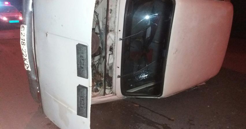 В Ялте погоня за нетрезвым водителем закончилась аварией