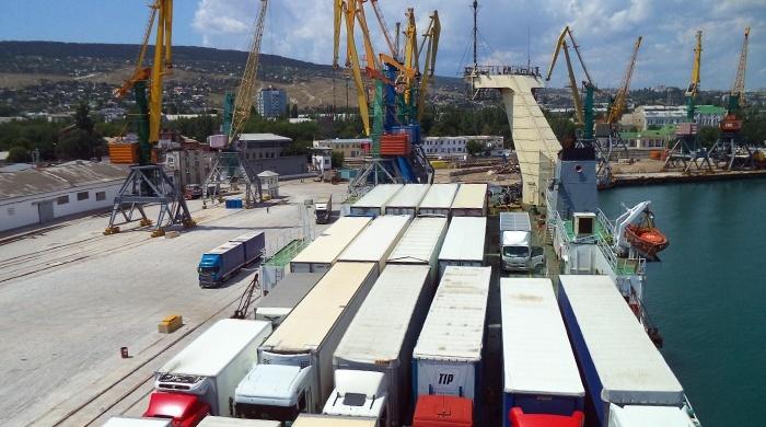 В Керчи бунтуют водители большегрузных автомобилей