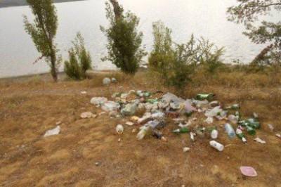 Симферопольское водохранилище находится в ужасном санитарном состоянии