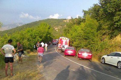 После аварии с автобусом крымские власти наконец-то решили поставить ограждение на опасном участке