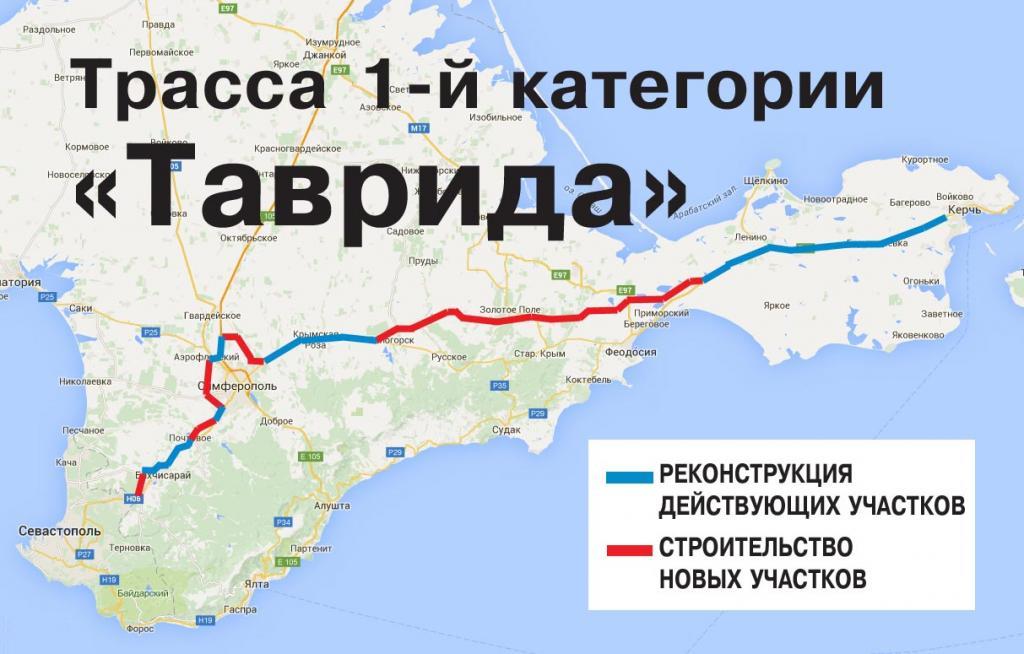 Симферопольскую трассу планируют расширить до четырех полос