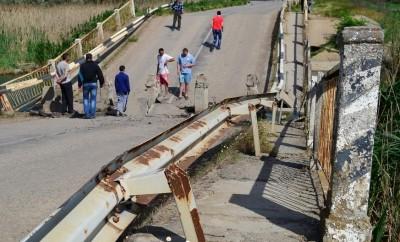Обрушившийся в прошлом году мост под Джанкоем обещают восстановить к декабрю