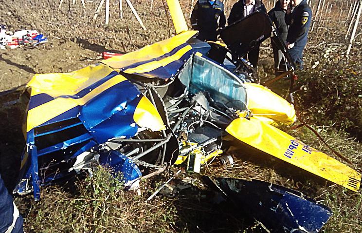 МЧС подтвердило информацию о крушении вертолета на полуострове