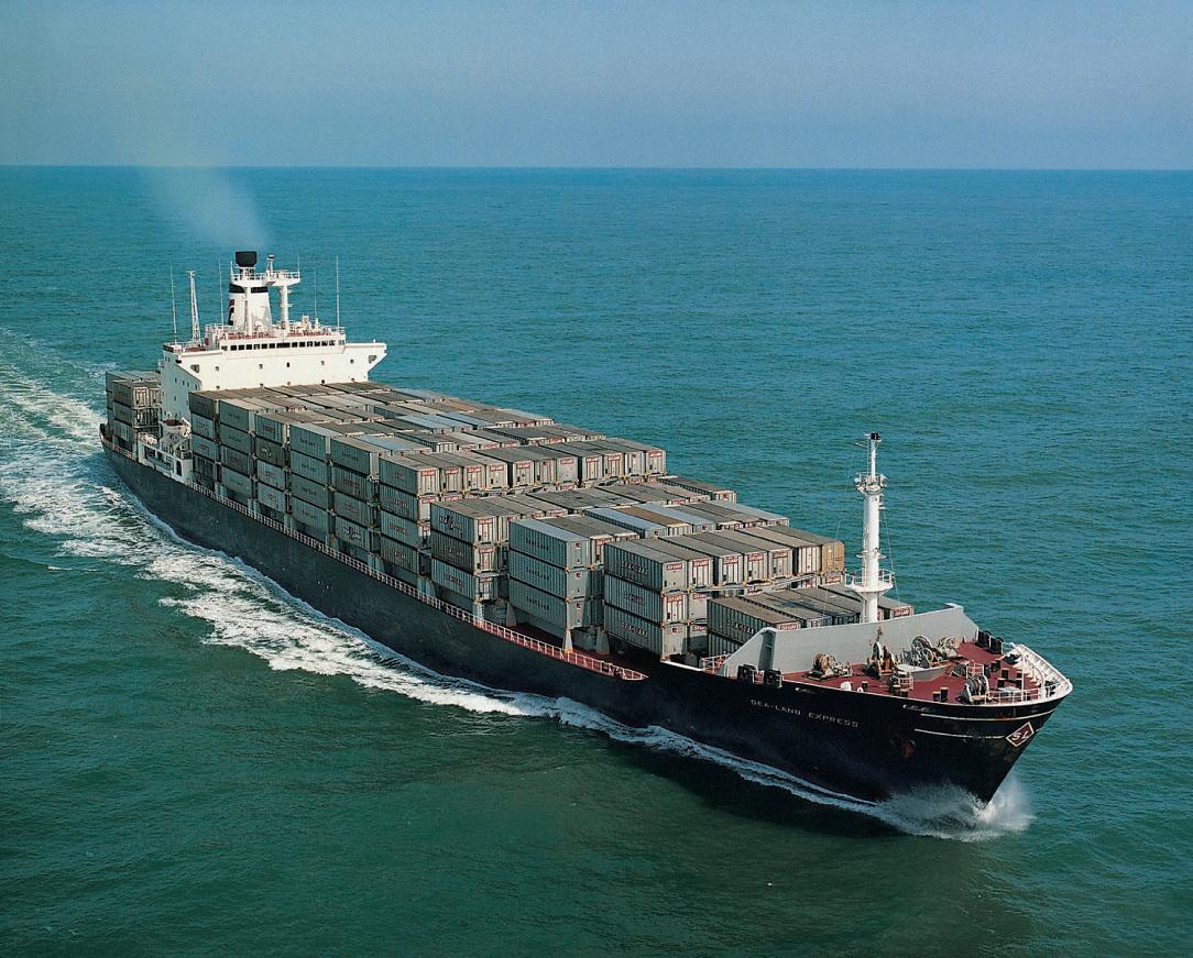 Транспортные перевозки груза по морю