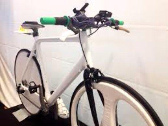 На 3D-принтере напечатали самый высокотехнологичный велосипед в мире