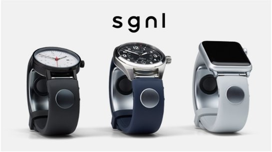 Смарт-браслет Sgnl позволит отвечать на звонки пальцем