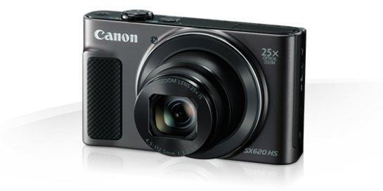 Новый фотоаппарат Canon PowerShot SX620 HS