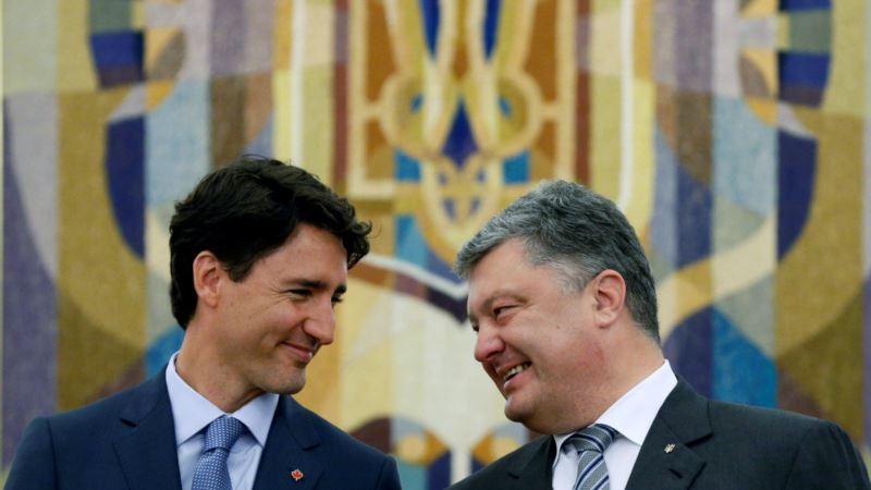 Канада: Порошенко и Трюдо проводят встречу в Торонто