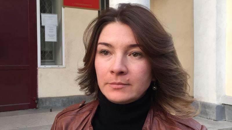 Жена Чийгоза: Киев дает надежду на освобождение осужденных крымчан