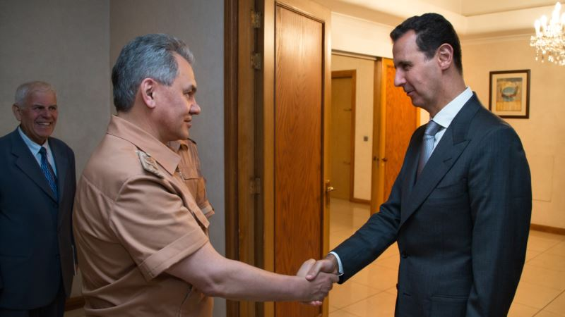 Министр обороны России встретился с Асадом в Дамаске