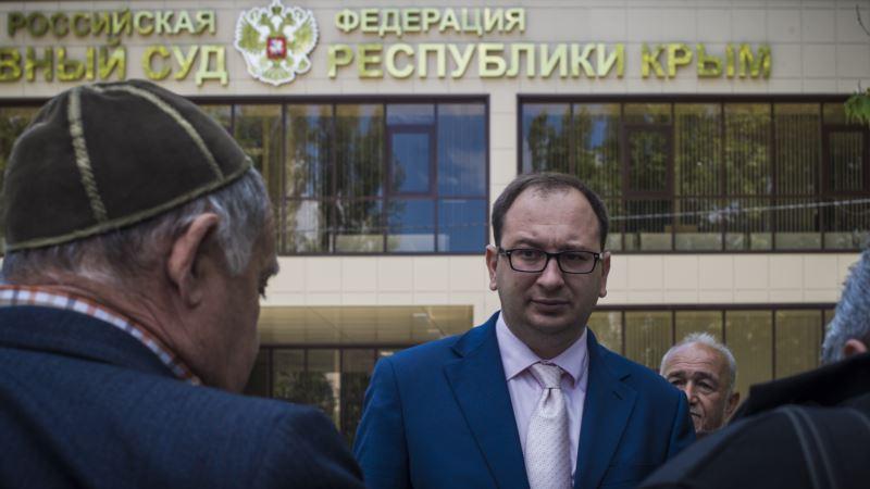 Полозов: Россия использует Крым как полигон для отработки репрессивных мероприятий
