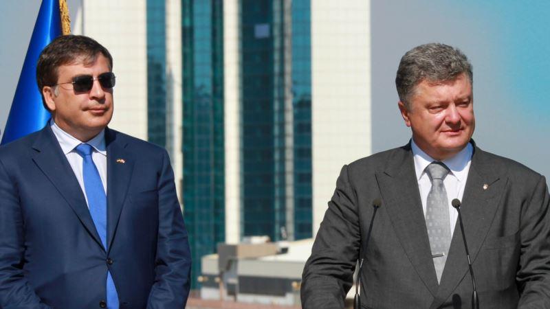Порошенко об инциденте в «Шегинях» с участием Саакашвили: безразлично, кто нарушает госграницу