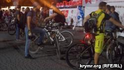 В Севастополе на фестивале «ВелоНочь» предложили пересадить чиновников на велосипеды