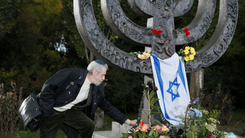 В Киеве проходят траурные мероприятия по случаю годовщины трагедии Бабьего Яра