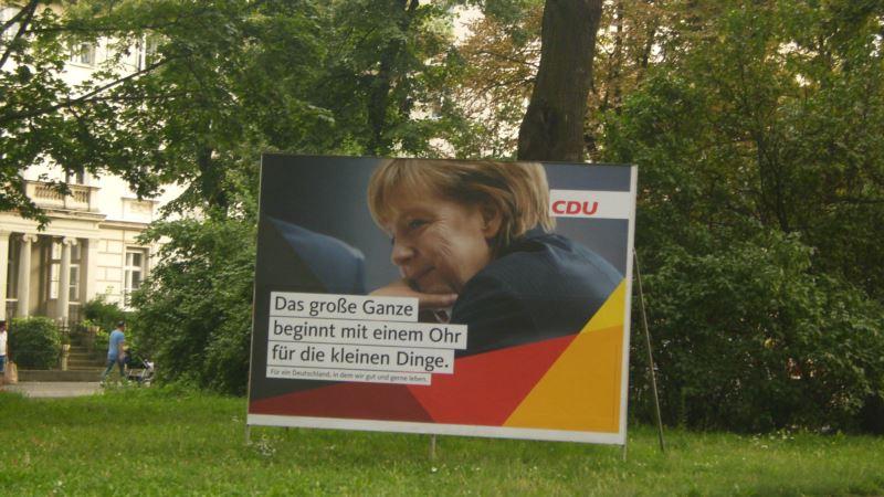 Германия: Меркель и Шульц встретились со сторонниками накануне выборов