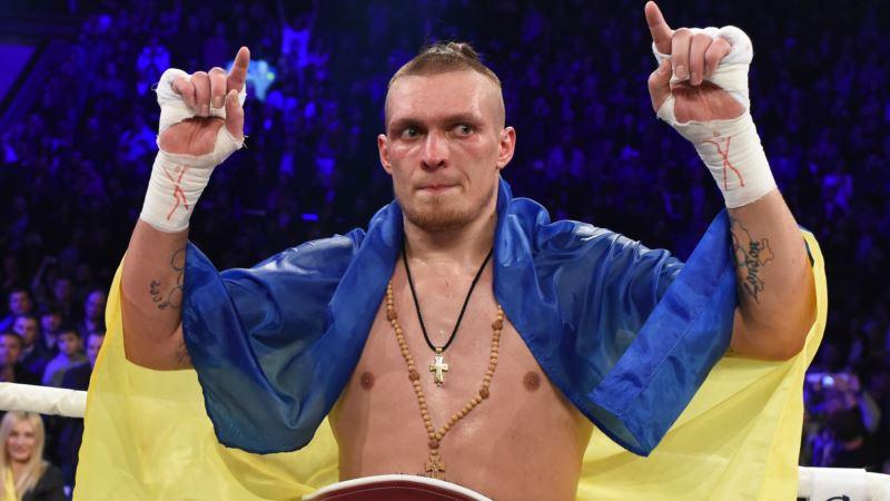 Крымчанин Усик встретится с латвийцем Майрисом Бриедисом в полуфинале Всемирной боксерской суперсерии