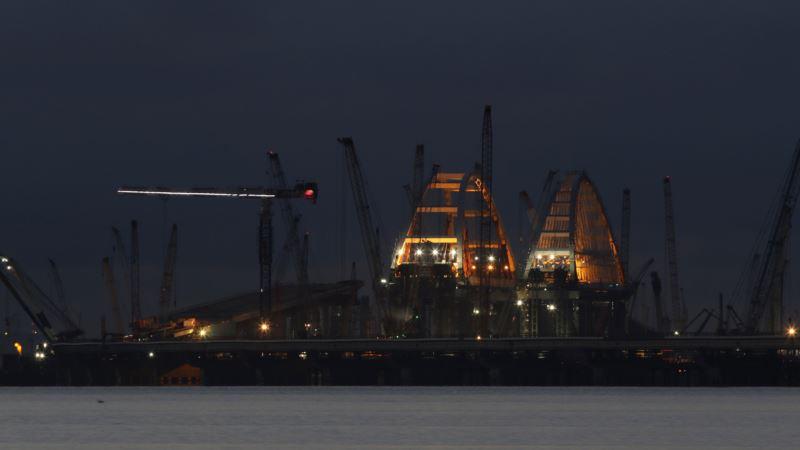 Ученые России считают, что строительство Керченского моста не вредит экологии моря
