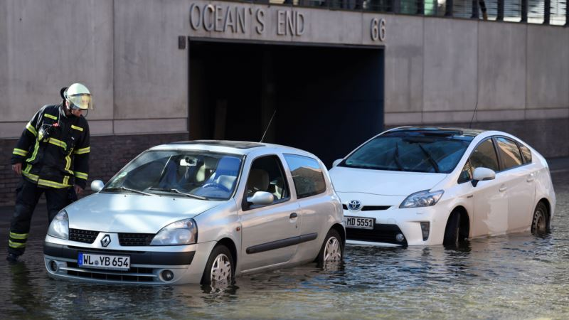 В Европе бушует ураган «Герварт»: по меньшей мере 6 человек погибли