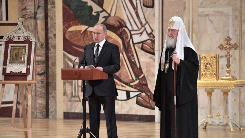 Русская православная церковь в послании к верующим предупреждает об опасности революционных настроений