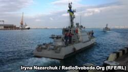 Бывшие курсанты из Севастополя стали командирами новых украинских бронекатеров (+фото)