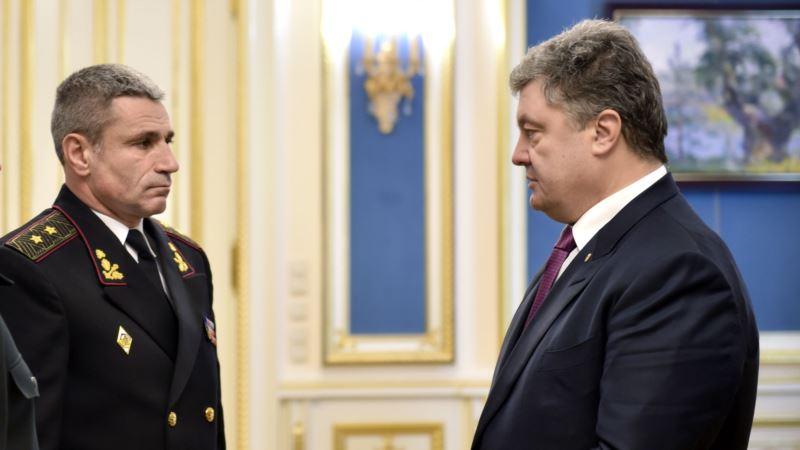Командующий ВМС Украины: забирать ли военную технику из Крыма, решит руководство страны