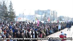 В Никополе открыли памятник участникам боевых действий на Донбассе