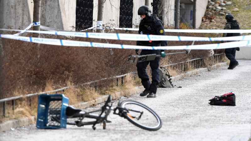 Швеция: в Стокгольме в результате взрыва погиб человек