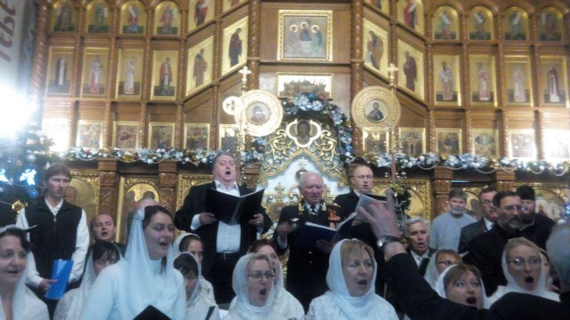 В Севастополе сезон рождественских концертов открыл украинский «Щедрик» (+ видео)