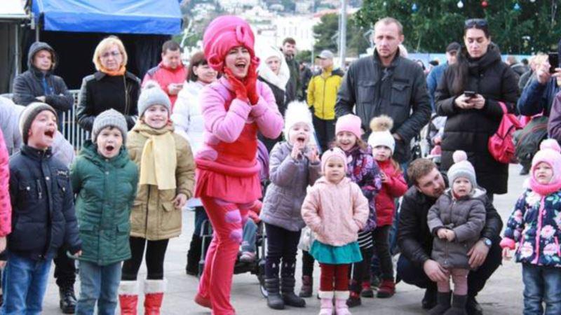 В Ялте отчитались о проведении концерта и караоке-турнира в первые дни года