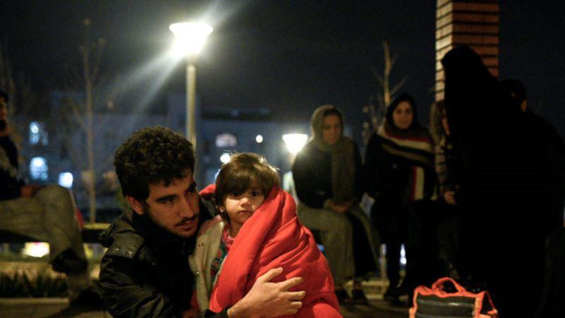 На западе Ирана произошло землетрясение, жертв нет