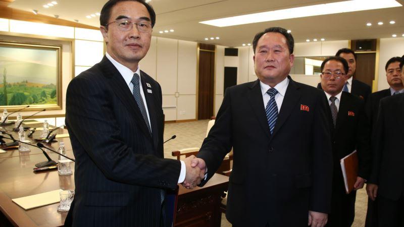 Северная и Южная Корея согласились возобновить диалог между военными должностными лицами