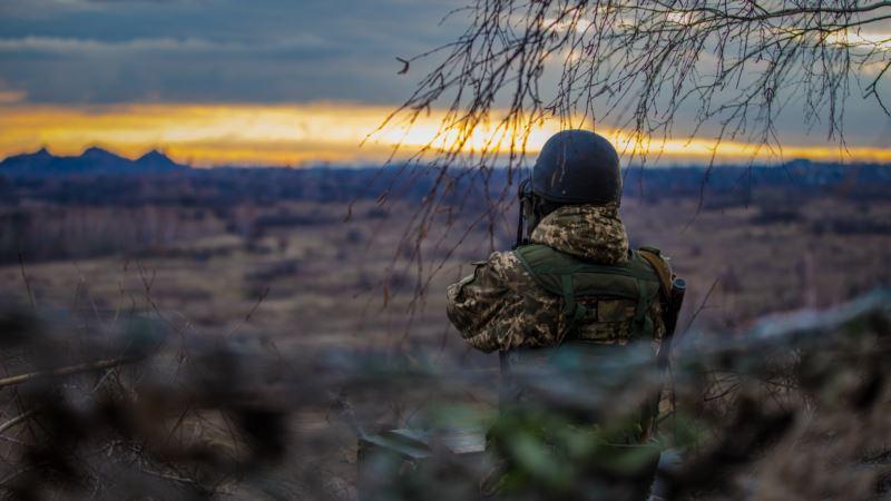 На Донбассе ранен один украинский военный – штаб АТО
