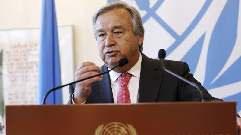 Генсек ООН призвал к глобальной борьбе против кибервойн
