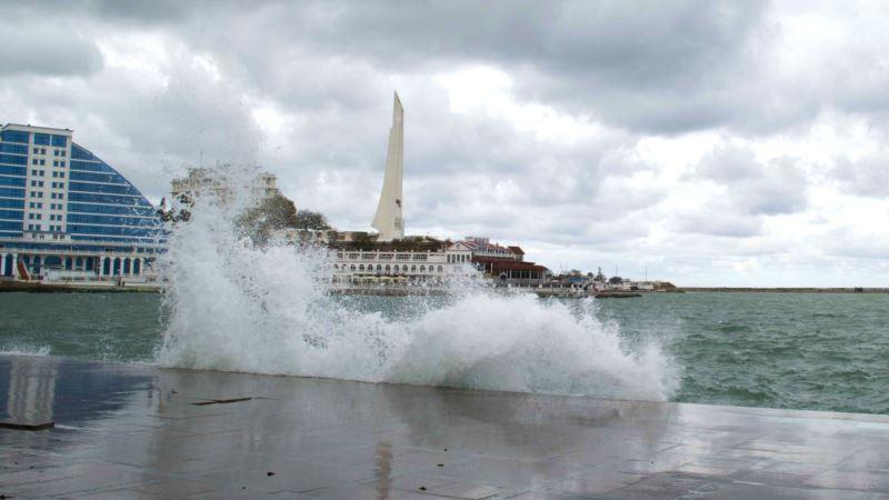 На выходные в Крыму объявлено штормовое предупреждение