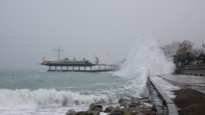 В Крыму 5 февраля ожидается дождь и сильный ветер