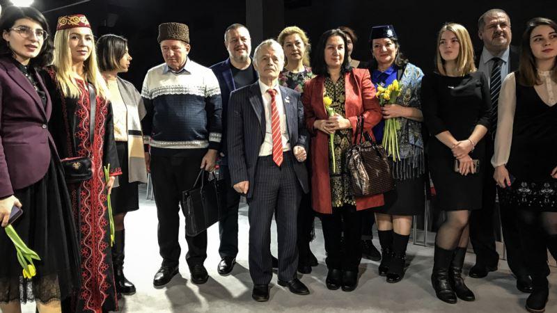 В Киеве прошел вечер памяти лидера крымскотатарского народа Номана Челеджибихана