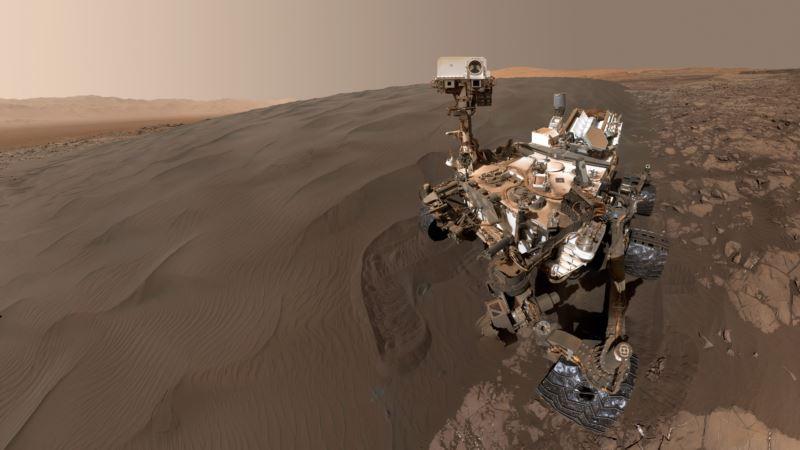 NASA показало снимки марсохода Curiosity